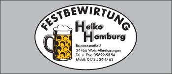 Festbewirtung Heiko Homburg