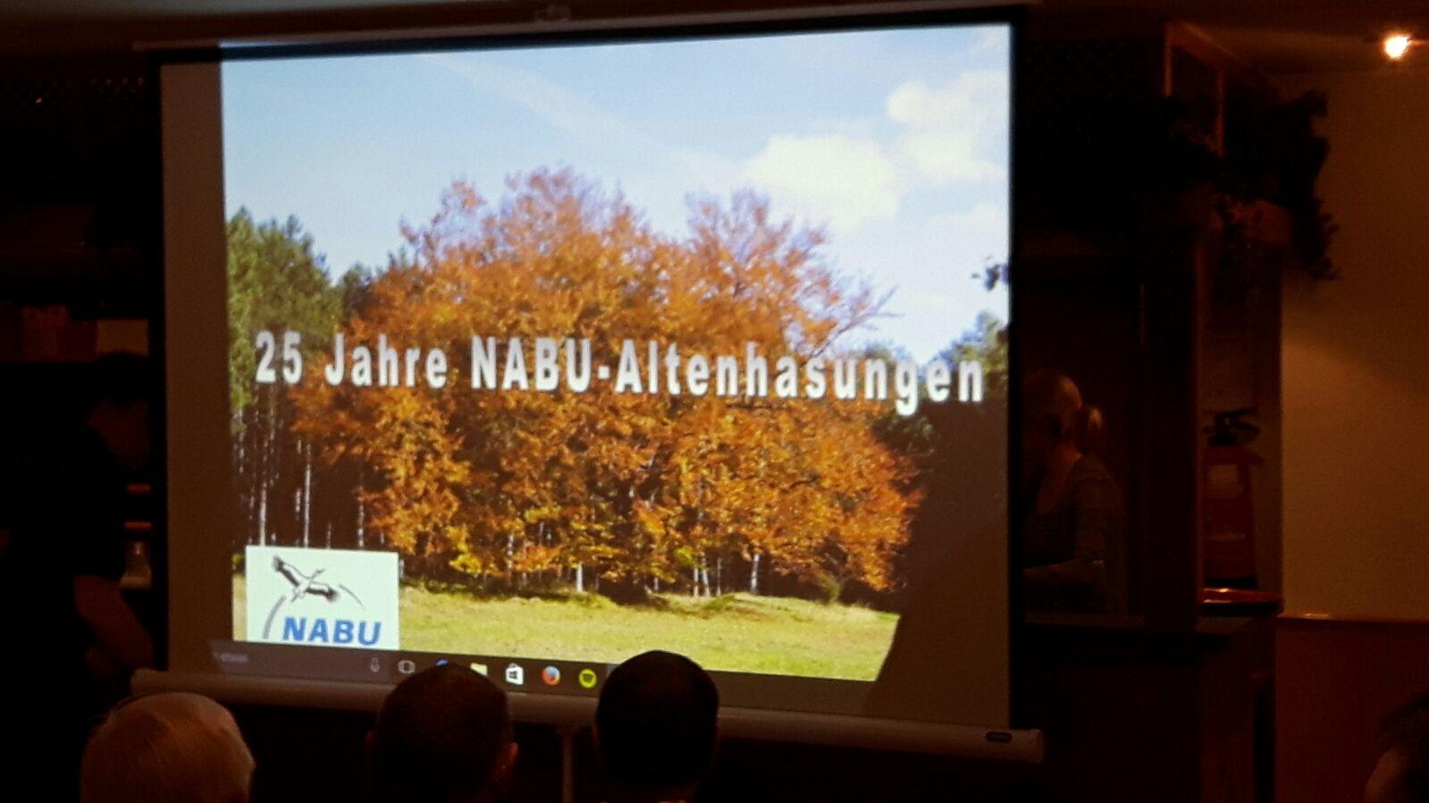 25 Jahre Nabu Altenhasungen